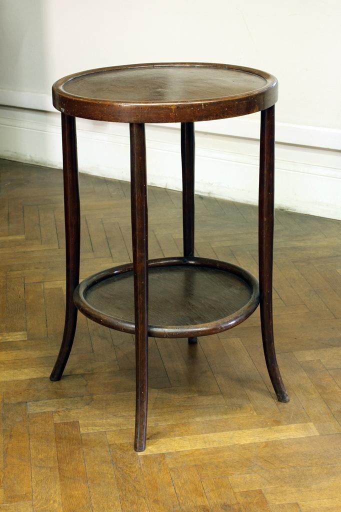 Mesa redonda de madera - Mesa de madera redonda ...